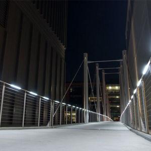 Het moderne de roest-Bescherming van het Roestvrij staal Deisgn Traliewerk van de Trede