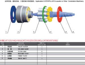 La serie de Hitachi Cat 215/225/235/245 de la fábrica de piezas de bomba