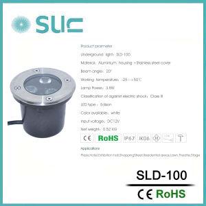 3.8W LED Tiefbaulampen, die für Landschaft (SLD-100, beleuchten)