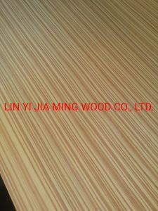 Envie de contreplaqué teck Gold Recon /MDF EV de placages de bois naturel
