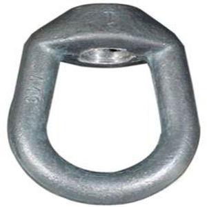 Zingué galvanisé de levage DIN 580 582 l'écrou du boulon à oeil avec plaqué zinc