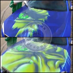 Thermochromic Pigment van de Verandering van de Kleur van de Temperatuur van het Poeder DIY voor het Art. van de Spijker
