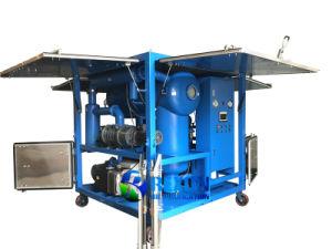Purificador de la Regeneración de aceite del transformador de vacío y el sistema de reciclaje de aceite