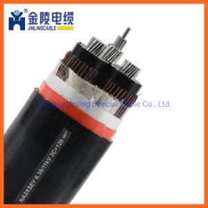 Cable de cobre de 33 Kv XLPE cable subterráneo