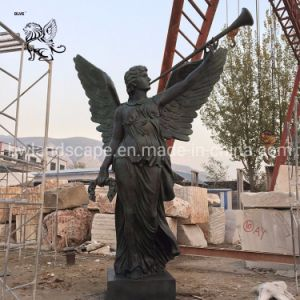 Usine fabrique grand Bronze Angel Sculptures Bfsy-014