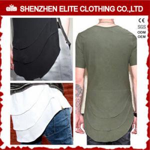 Maglietta degli ultimi di disegno di abitudine all'ingrosso uomini di modo (ELTMTI-1)
