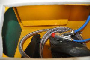Het mini Zandstraaltoestel van het Kabinet van het Zandstralen Kleine Industriële voor Verkoop