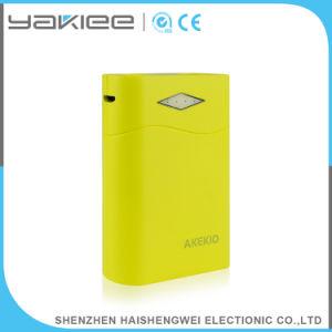 Portátil de alta capacidad de 6000mAh/6600mAh/7800mAh linterna móvil Banco de potencia
