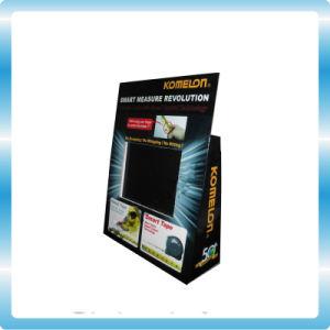 L'acrylique/carton Comptoir Affichage Pop avec écran LCD 7 pouces vidéo moniteur TV