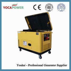 12kVA 3段階の無声ディーゼル機関力のディーゼル発電機セット