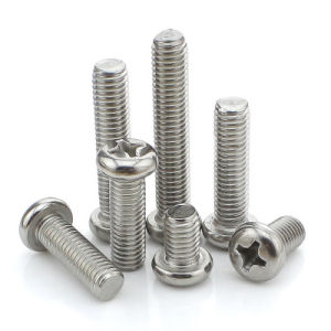 La fabrication de placage de zinc Carbon Steel Pan/vis de la machine les boulons à tête hexagonale pour Home appliance