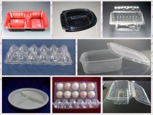 Descartáveis de plástico da bandeja totalmente automática (HY-7101200 máquina de termoformação Vácuo)