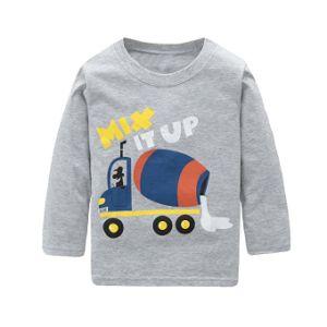 8379cdff4 Los niños ropa de algodón de manga larga Camisetas camiseta Monster Truck  ropa para bebés