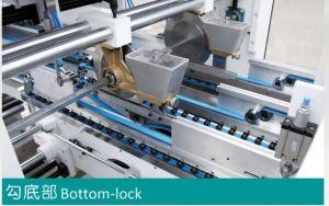 Control de Motor independiente de Bloqueo Bloqueo corrugado Cuadro inferior carpeta Gluer GK-1200/1450(PC).