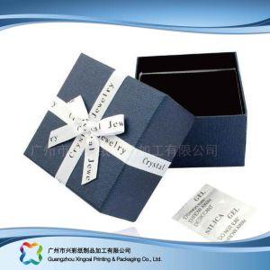 カスタム腕時計または宝石類またはギフトの木かペーパー表示包装ボックス(xc-hbj-015)