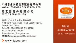 Buzina de Moto Peças Moto Yog 12V-047Yog Universal uma