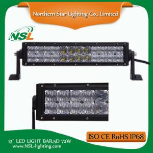 guida di veicoli fuori strada del camion 4X4 della barra chiara di 12inch 72W 5D LED