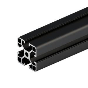 Los perfiles de aluminio anodizado negro 4040 Pérgola Extrusión de sistemas de movimiento lineal