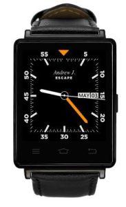 D6 het Androïde Hart van de Telefoon van WiFi 3G Smartwatch de Slimme Telefoon van het Tarief