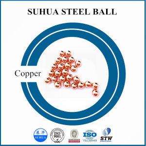 99.99% Körper-Kupfer-Kugel der Reinheit-5mm für Peilung