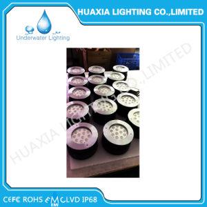 IP68 scaldano l'indicatore luminoso subacqueo messo LED decorativo bianco della lampada di 27W 36W