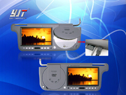 7Car Sunvisor TFT LCD DVD Player (YJ-7188D)