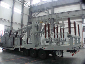 移動式変圧器のサブステーションの/Movableの配電所か配電所