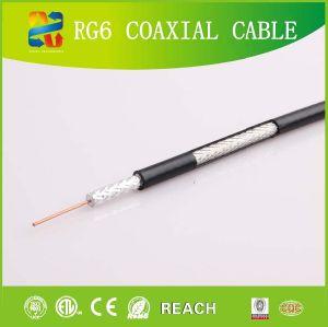 cavo coassiale professionale dei prodotti RG6 di fabbricazione 17years con il Ce di ETL RoHS (RG6)