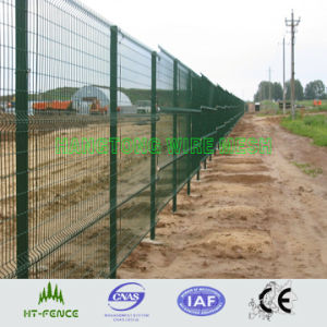 Panel de malla de alambre soldado/valla