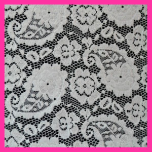 La mode en nylon pour robe dentelle Eastic tissu142