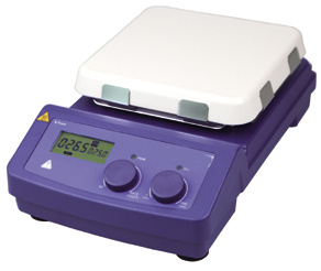 Agitador magnético Digital placa de porcelana (AMTAST 550P)