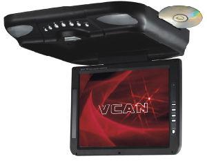 TFT LCD 감시자를 가진 10.4 인치 지붕 산 차 DVD 플레이어