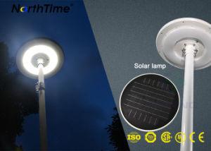 Ronda de protección IP65 15W LED integrado un panel solar Jardín de Luz