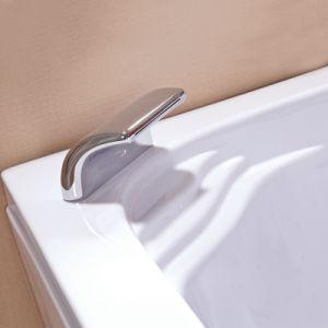 2016 Acrílico doble caliente bañera de hidromasaje con luz subacuática (CDT-006 mando neumático)