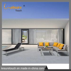 Для использования вне помещений пластиковые деревянный стол и стул алюминий патио для отдыхающих диван, мебель
