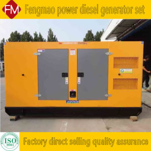 Emudecer 300 Kw - padrão do conjunto de geradores diesel 80 dB