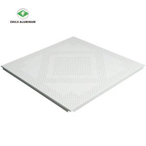 L'aluminium perforé Sound-Absorbing les carreaux de plafond pour l'hôpital