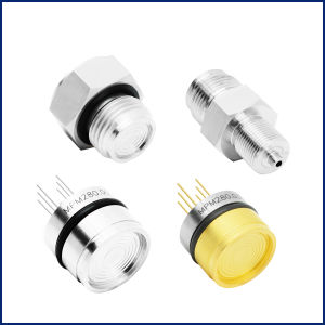 Medidor de absoluta de aço inoxidável isolado a óleo de silicone de alta precisão estável de ar do Sensor de Pressão Piezorresistivos Design Personalizado MPM280