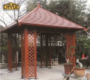 屋外の庭の家具装飾的なアルミニウムフレームのパビリオンの金属の望楼