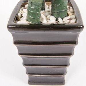 Un albero falso artificiale di vendita caldo dei tre bonsai dei circuiti di collegamento per la decorazione del giardino