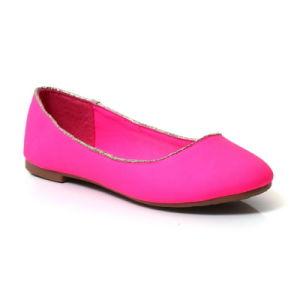 Cheap Printemps Automne femme ballerines semelle des chaussures plates avec TPR