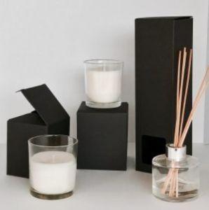 매트 Black Reed Diffuser Box는 257 mm x 70 mm x Clear Window, Can를 가진 70 mm Logo와 Size를 가진 Printed 또는 Customized있다