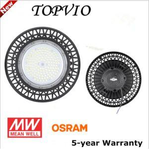 Año de garantía de 5 MW 100W/150W/200W LED de alta OVNI Industrial Bahía cubierta/Luz de almacén