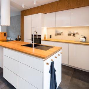 Cocina italiana DIY Armario despensa diseños de la cocina modular