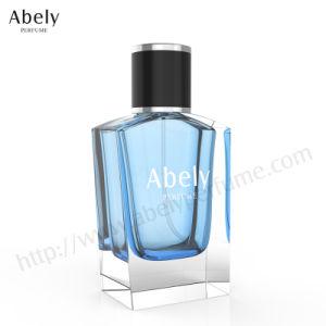 60ml Hot Sale Polissage du verre bouteille de parfum avec du cuir/Surlyn/capuchon en plastique