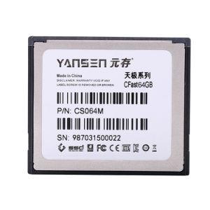 Kingspec промышленных/внутреннего корпоративного уровня 64ГБ SSD Cfast 3.0 Карта