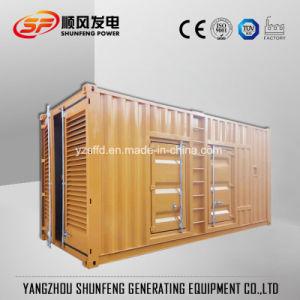防音の容器極度の無声1500kVA中国Jichai力のディーゼルGenset