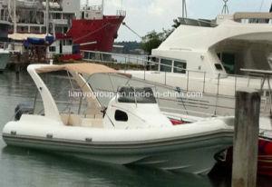 8.3mのガラス繊維の膨脹可能なRhibの速度のボート