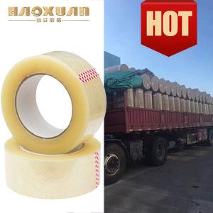 De Hete Leverancier van China van de Kantoorbehoeften van de Band van de Verpakking van de Smelting BOPP Bruine Zelfklevende