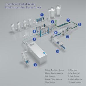 Qualitäts-beste Preis-Mineralwasser-Abfüllanlage